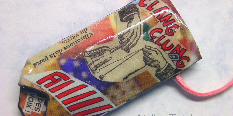 Dada Paper Art Collage