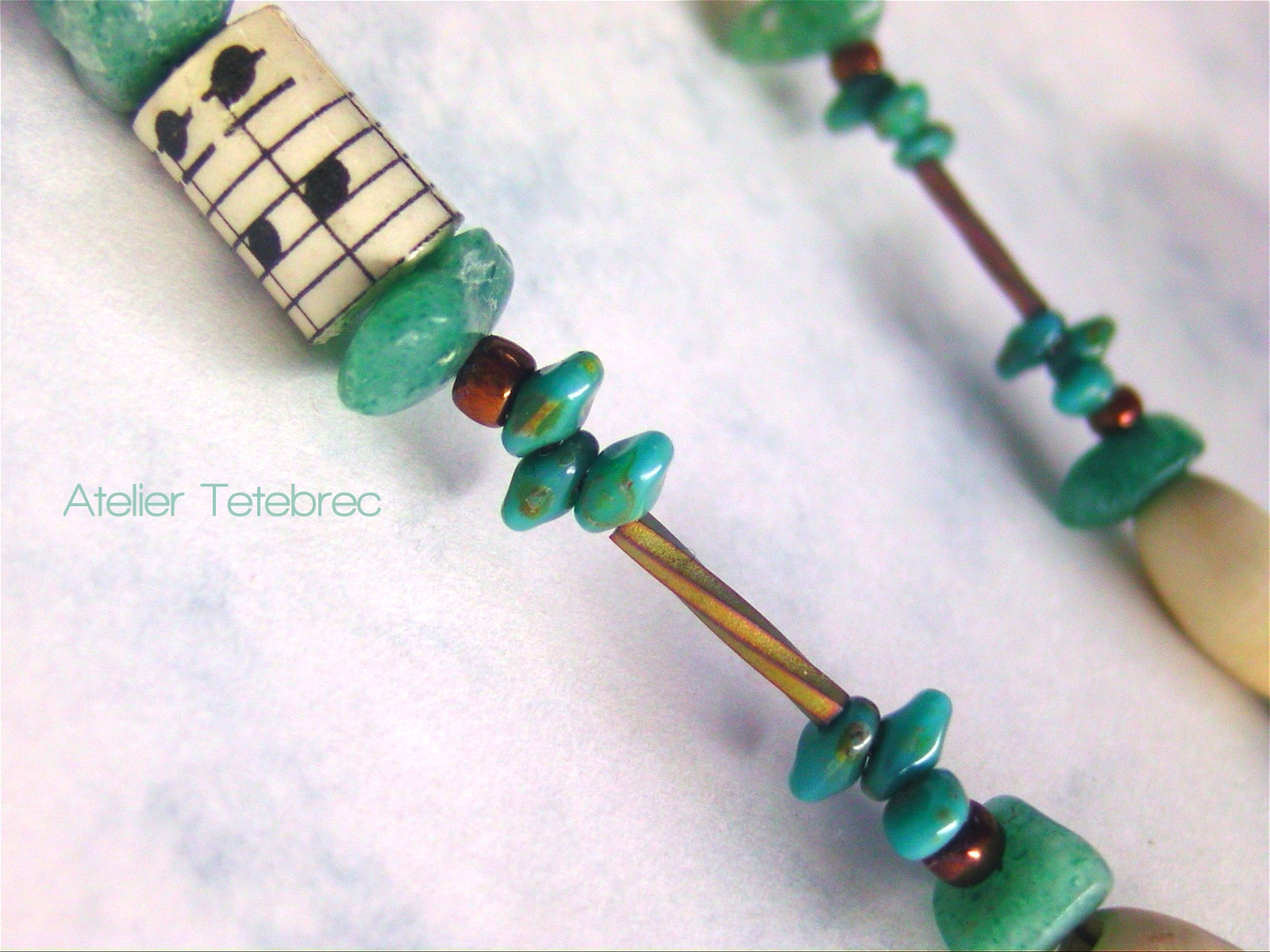 Schamanenkette grün