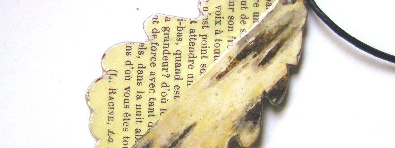 Blatt Rinde Papier